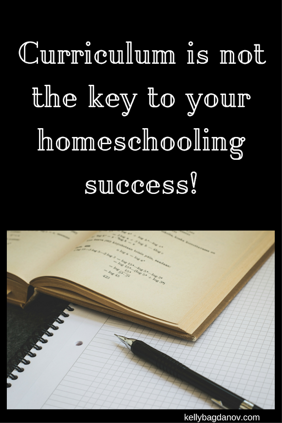 Curriculum is not the key to your homeschooling success