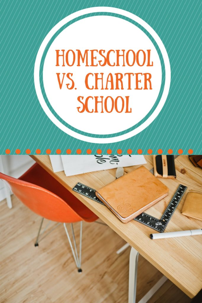 Homeschool vs. charter school, good explanation of the difference between these two