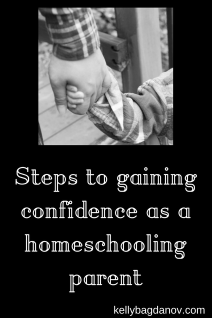 Steps to Becoming a Confident Homeschooler