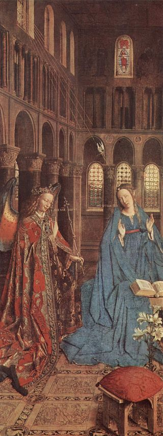 Jan Van Eyck's The Annunciation, The Hidden Meanings.