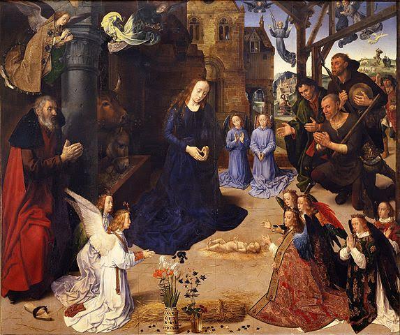 The Portinari Altarpiece by Hugo Van Der Goes