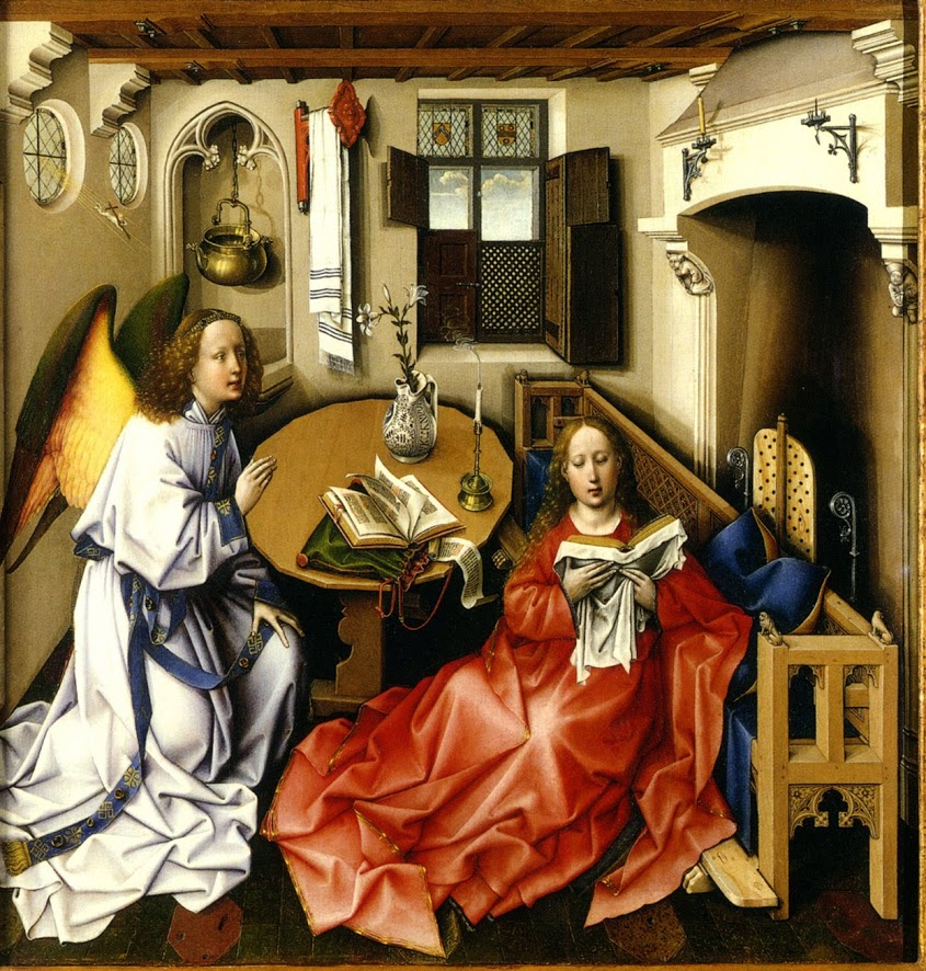 Robert Campin's The Annunciation