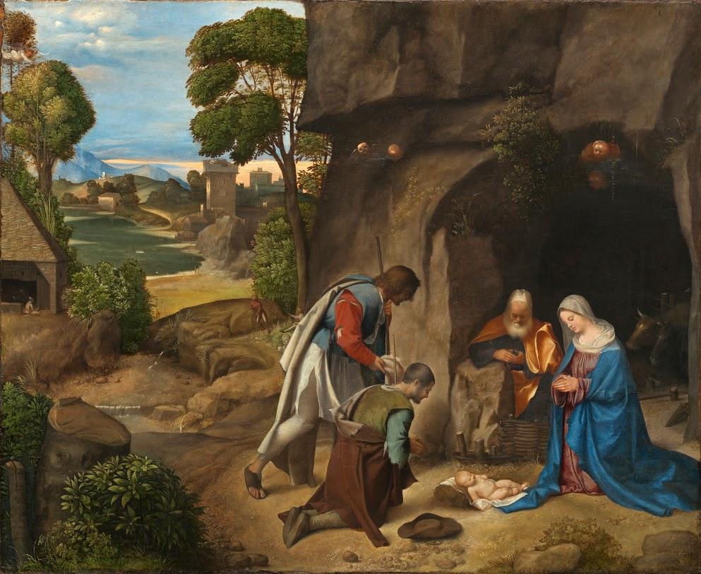 Giorgione's Adoration of the Shepherds