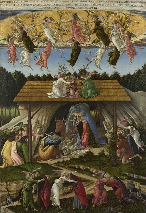 Sandro Botticelli and the Mystic Nativity
