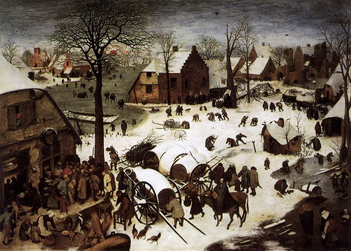 Pieter Bruegel the Elder  The Census at Bethlehem