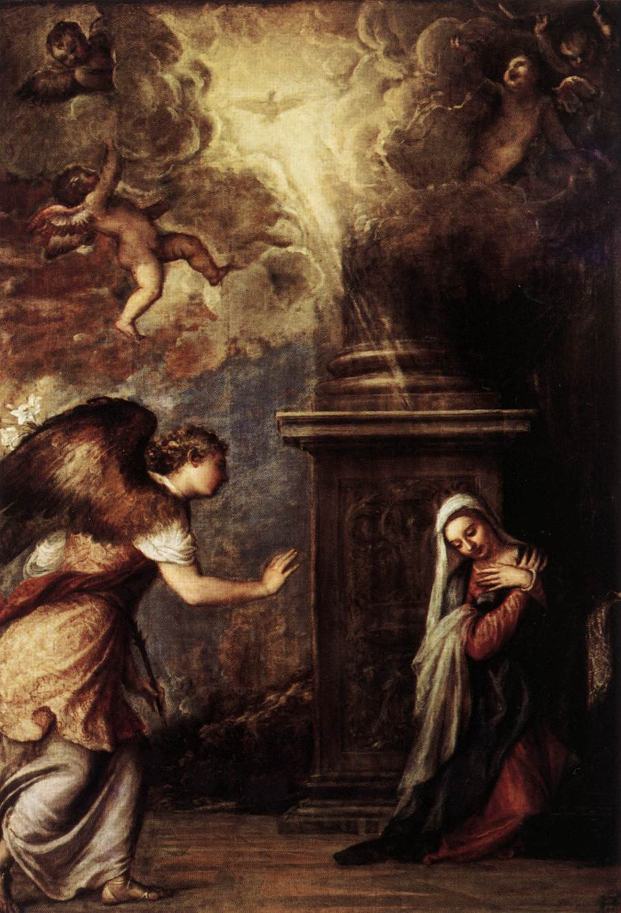 The Annunciation by Titian