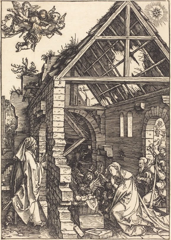 Albrecht Durer and woodcuts of the Nativity