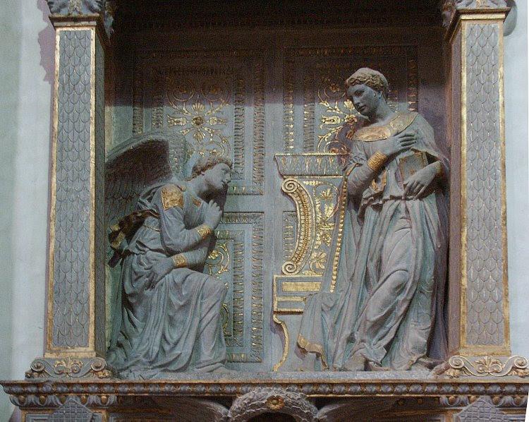 Donatello's The Annunciation