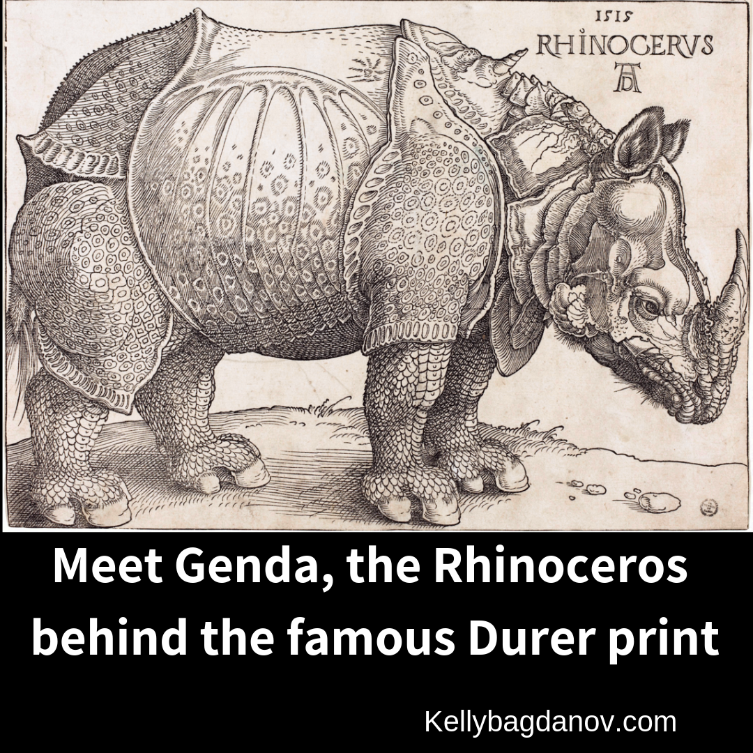 Meet Genda, The Rhinoceros Behind Durer's Famous Print.