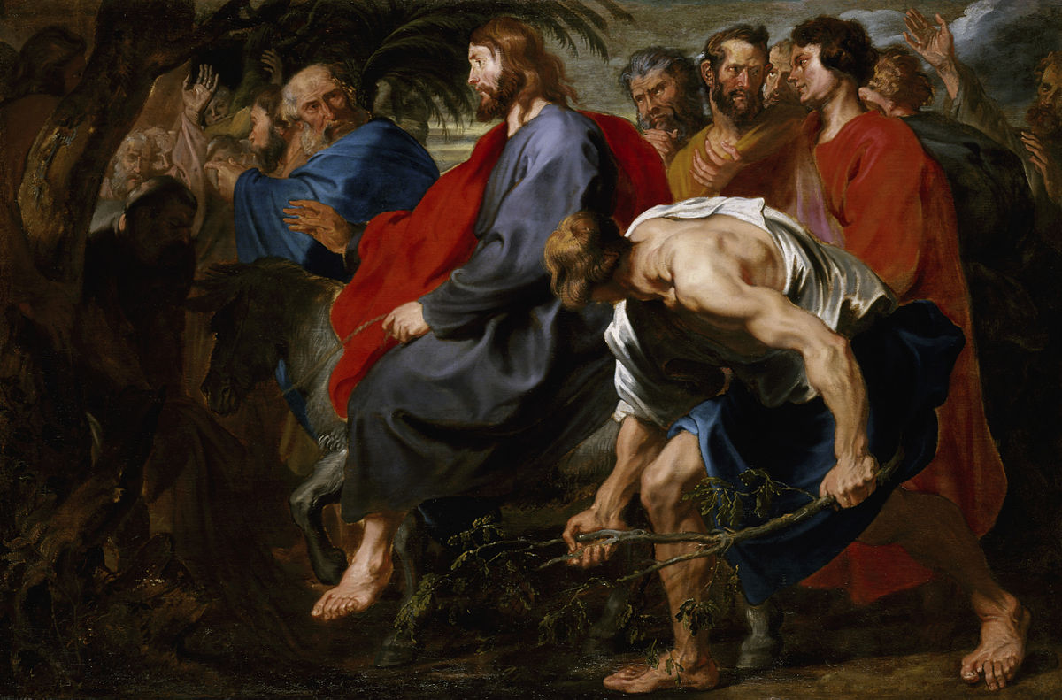 Anthony Van Dyck - The Triumphal Entry