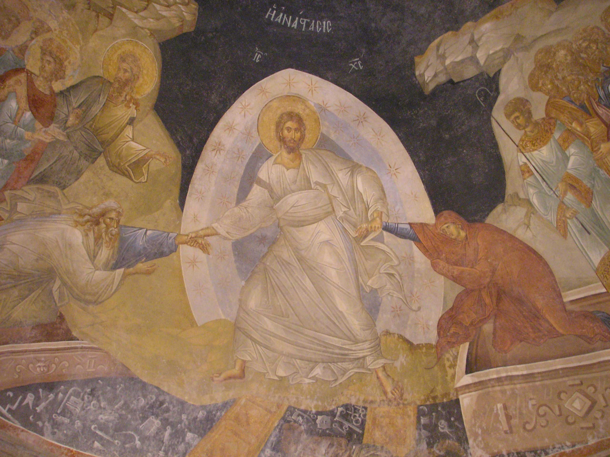 Silent Saturday - Anastasis in the Chora Church