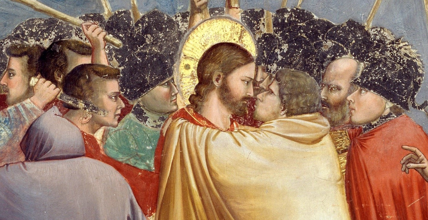 Image result for the kiss of judas painting